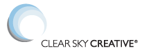 Clear Sky Creative Logo